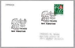 HERMANAMIENTO SAN SEBASTIAN - TRENTO (Italia). Jumelage. San Sebastian, Pais Vasco, 1993 - Otros