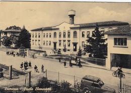 PIUMAZZO -MODENA-SCUOLE ELEMENTARI-CARTOLINA VERA FOTOGRAFIA- VIAGGIATA IL 23-8-1965 - Modena