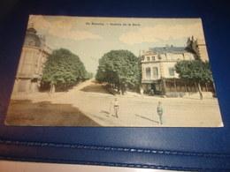 Cpa Beaune Cote  D Or  Avenue De La Gare - Beaune