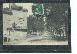 12-VILLEFRANCHE-sur-ROUERGUE-Une Vue Animée Du Boulevard Alsace-Lorraine - Villefranche De Rouergue