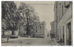CPA 26 Drôme Saint Martin En Vercors Place De La Mairie Près De St Julien La Chapelle Agnan Villard De Lans Rencurel - Altri Comuni