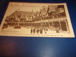 Cpa Beaune Cote  D Or  Cour D Honneur Hotel Dieu - Beaune