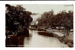 CPA-Carte Postale-Royaume Uni- Warwick- Castle From Bridge-1906 VM10725 - Warwick