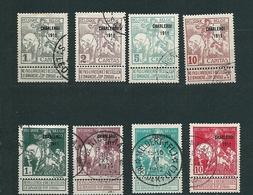 [FB17] Zegels 100 - 107 Gestempeld - 1910-1911 Caritas