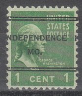 USA Precancel Vorausentwertung Preo, Locals Missouri, Indepencence 247 - Vereinigte Staaten