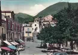 PISCIOTTA-SALERNO-PIAZZA RAFFAELE PINTO-CARTOLINA VERA FOTOGRAFIA VIAGGIATA IL 21-3-1961 - Salerno