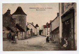 - CPA TREZELLES, Canton De Jaligny (03) - Rue Centrale 1909 (avec Personnages) - - France