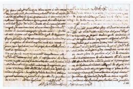 SIENA - CARDINALE / CARDINAL CAMERLENGO ANTONIO FELICE ZONDADARI  - LETTERA MANOSCRITTA - AUTOGRAFO / AUTOGRAPH - 1737 - Autographs