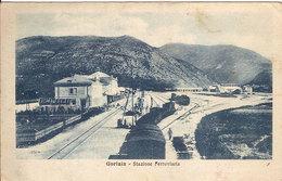 (C).Gorizia.Stazione Ferroviaria.F.to Piccolo.Viaggiata (c17) - Gorizia