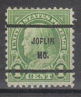 USA Precancel Vorausentwertung Preo, Bureau Missouri, Joplin 632-61 - Vereinigte Staaten