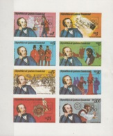 Guinea Equatoriale 1979 MI. 1557/1564 London Philatelic Exhibition R. Hill Block Sheet Imperf. Nuovo - Esposizioni Filateliche
