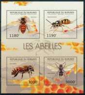 NB - [32501]SUP//**/Mnh-c:19e-BURUNDI 2012 - Les Abeilles, Insectes - Api