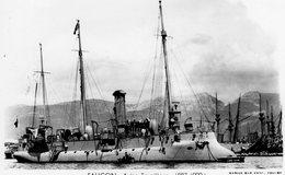 Marine Militaire Francaise  -  'FAUCON'  -   Aviso-Torpilleur 1887-1920   -   Marius Bar Photocarte - Carte Postale - Warships