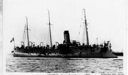 Marine Militaire Francaise  -  'FLEURUS'  -   Aviso-Torpilleur 1893   -   Marius Bar Photocarte - Carte Postale - Warships