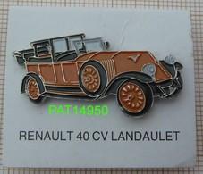 RENAULT 40CV LANDAULET - Renault