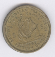 EAST CARIBBEAN STATES 1965: 5 Cents, KM 4 - Caribe Oriental (Estados Del)