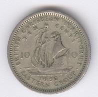 EAST CARIBBEAN STATES 1956: 10 Cents, KM 5 - Caribe Oriental (Estados Del)