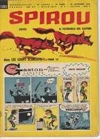 Hebdomadaire Spirou  N° 1285 Du 29 Novembre 1962 La Patrouille Des Castors Dans Les Loups écarlates - Spirou Magazine