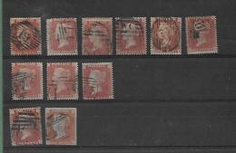 Lot De Timbres Oblitérés En L'état - Used Stamps