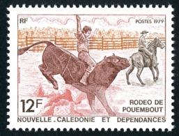 NOUV.-CALEDONIE 1979 - Yv. 433 **   Cote= 1,70 EUR - Rodéo De Pouembout  ..Réf.NCE25173 - Nouvelle-Calédonie