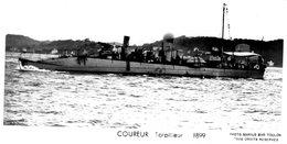 Marine Militaire Francaise  -  'COUREUR'  -  Torpilleur 1899  -   Marius Bar Photocarte - Carte Postale - Guerre