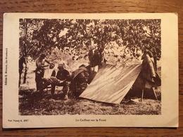 CPA, Le Coiffeur Sur Le Front (Guerre 1914-1918) écrite En 1916, éd Moisson, Ste Ménéhould (51) - Guerra 1914-18