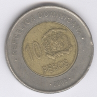 DOMINICANA 2008: 10 Pesos, KM 106 - Dominikanische Rep.