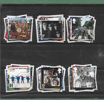 The Beatles - SG 2686/91  - Année 2007 - Usati