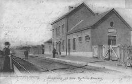 Dampremy.  La Gare   Docherie-Bierraux.(carte Souillée)  Scan - Autres