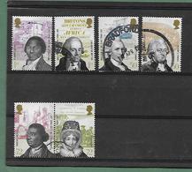 Abolition Esclavage - SG 2728/32  - Année 2007 - 1952-.... (Elizabeth II)