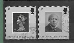 40e Anniversaire  - SG 2741/42  - Année 2007 - 1952-.... (Elizabeth II)