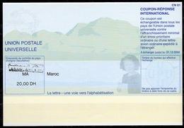 MAROC / MOROCCO Pe31A 20030402 CE20.00 DHInternational Reply Coupon Reponse Antwortschein IAS IRC CASABLANCA - Marocco (1956-...)
