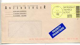 Lettre Cachet Vignette Wien Taxe Comptant Entete Atelier Photographie - Poststempel - Freistempel