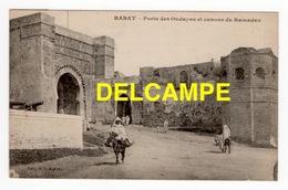 DD / MAROC / RABAT / PORTE DES OUDAYAS ET CANONS DU RAMADAN / ANIMÉE - Rabat
