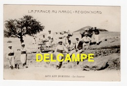 DD / MAROC / AIN DGHISSA / LA FRANCE AU MAROC  -  RÉGION NORD / LA SOURCE / ANIMÉE - Altri