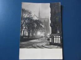 Carte Postale PARIS Neige Rue Du Cloître Notre Dame - Churches