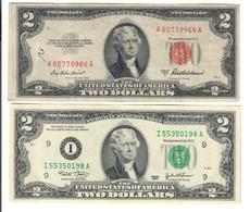 Usa 2 $ 1953 A + 2003 Lotto 2886 - Billetes De Estados Unidos (1928-1953)