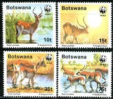A01-09-09) Botswana - 1988 WWF 068 - Mi 431 / 434 - ** Postfrisch (C) - Der Rote Litschi - Botswana (1966-...)