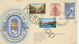 Australia - Official Souvernir Cover Melbourne Olympics 1956  (5P-154 - FDC