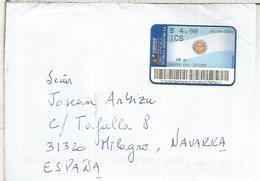 ARGENTINA CXC CON ATM BANDERA FLAG SAN ISIDRO - Briefe U. Dokumente
