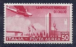 190032416  ITALIA  YVERT    AEREO  Nº  64  */MH - Posta Aerea