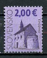 Slovaquie - Slovakia - Slowakei 2009 Y&T N°528 - Michel N°604 (o) - 2,00€ église De Drazovce - Slovakia