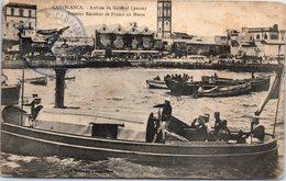 AFRIQUE - MAROC -- CASABLANCA - Arrivée Du Général Lyautey - Casablanca