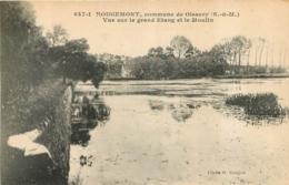 ROUGEMONT COMMUNE DE OISSERY VUE SUR LE GRAND ETANG ET LE MOULIN - Otros Municipios