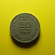 Brazil 50 Reis 1918 - Brasil