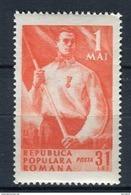 Rumanía 1950. Yvert 1113  ** MNH. - 1948-.... Repúblicas