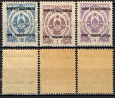 JUGOSLAVIA - 1950 - STEMMA CON SOVRASTAMPA - MNH - Timbres-taxe