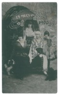 RO 91 - 13811 Queen MARY, And Princesses, Regale Royalty - Old Postcard, Real PHOTO - Used - Roumanie