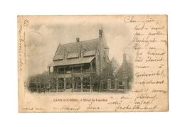 GAND-LOURDES.  L'Hôtel De Lourdes  (1900). - België