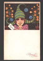 Illustrator Nanni - Fantaisie / Fantasy - Woman / Femme / Vrouw - Bonne Année - Nanni